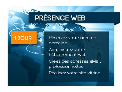 Pack Présence web, administrez votre site internet